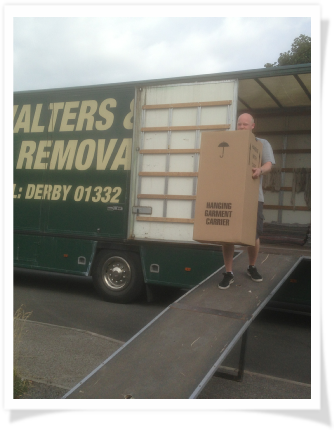Removals Derbyshire